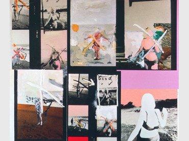Richard Hamilton. My Marilyn (Mi Marilyn). 1965. Óleo, collage y fotografía sobre tabla. 102,5 x 122 cm. Colección Ludwig, Ludwig Forum für Internationale Kunst, Aquisgrán