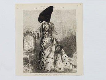William Kentridge, dibujo para The Nose [La nariz], 2009. Colección particular © William Kentridge, 2017