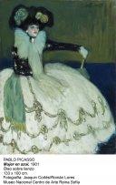 Pablo Picasso. Mujer en azul, 1901