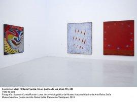 Idea: Pintura Fuerza, vista de sala / gallery view (imagen 1)