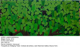 Kerry James Marshall. Green (Verde), 2012
