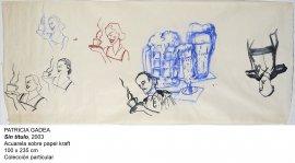 Patricia Gadea.Sin título, 2003. Colección particular