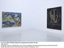 Idea: Pintura Fuerza, vista de sala / gallery view (imagen 6)