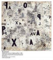 León Ferrari y Mira Schendel:  El alfabeto enfurecido(imagen 01)
