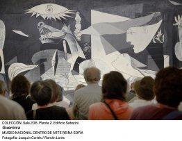 imagen de rueda de prensa Viaje al interior del Guernica