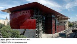 Museo Reina Sofía. Edificio Nouvel. Fachada