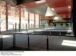 Museo Reina Sofía. Edificio Nouvel. Terrazas
