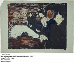 Edvard Munch, Ved dødssengen, 1896