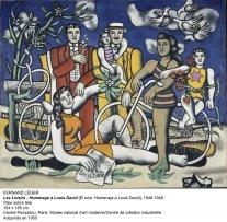 Fernand Léger, Les Loisirs - Hommage à Louis David, 1948-1949