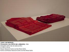 Juan Luis Moraza, Ornamento y ley (Arte del armario), 1994