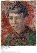Vincen Van Gogh. Tête de femme, 1887