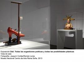 Dalí. Todas las sugestiones poéticas y todas las posibilidades plásticas, vista de sala / gallery view (imagen 4)