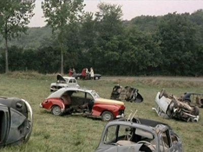 Jean-Luc Godard. Weekend. Película, 1967, VOSE, color, 105'