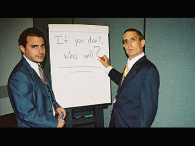 Sarah Price, Dan Ollman y Chris Smith. The Yes Men, 2004