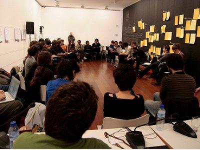 Taller Negociaciones culturales. Centro de Arte José Guerrero y Unia Arteypensamiento. 2009. Transductores