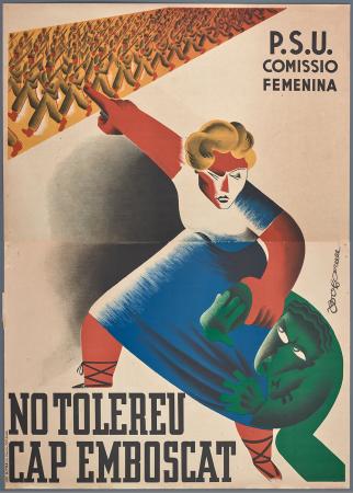 Bofarull, No tolereu cap emboscat, 1937. Fondos del Centro de Documentación del MNCARS