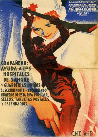 Arturo Ballester, Compañero: Ayuda a los hospitales de sangre y guarderías de niños, ca. 1936-1939. Archivo Ibán Ramón