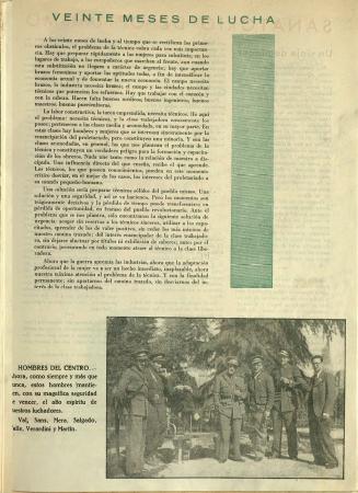 """""""El trabajo"""", Mujeres libres, n.º 13, otoño de 1938. Madrid / Barcelona: Mujeres Libres, 1936-1938. Imágenes cedidas por la Confederación General del Trabajo – CGT. Con la colaboración de la FAL y la CNT"""