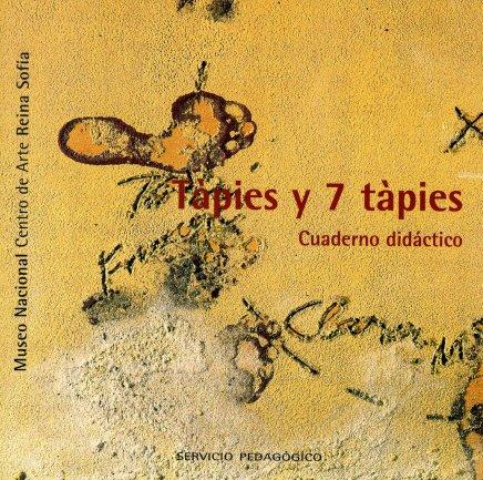 Portada del cuaderno didáctico Tápies y siete Tápies. Museo Reina Sofía, 2004