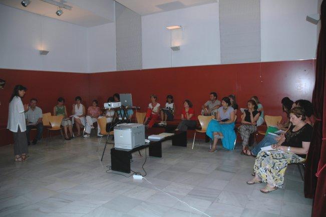 Sesión preparatoria del profesorado. Museo Reina Sofía, 2007