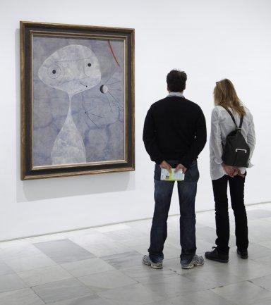 Una de las salas objeto de estudio en estas Lecciones de Arte. Museo Reina Sofía, 2007
