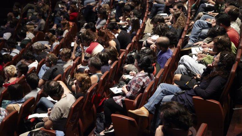 Imagen del Auditorio 200 del Edificio Nouvel. Museo Reina Sofía, 2008