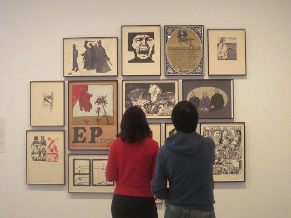 El uso de la imagen fue uno de los temas tratados en la actividad Lo Popular. Museo Reina Sofía, 2010.