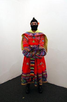 Frau Diamanda. Tr@nsversiva Post Andina Revolucionaria, 2011. Fotografía de César Delgado Wixan