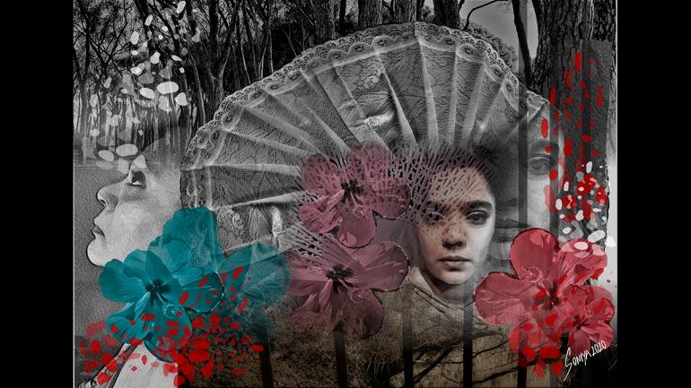Soniya Amritlal Patel, Entre susurros y lágrimas, lo que nos cuentan las tierras... (Between Whispers and Tears, What Lands Tell Us ...), 2020