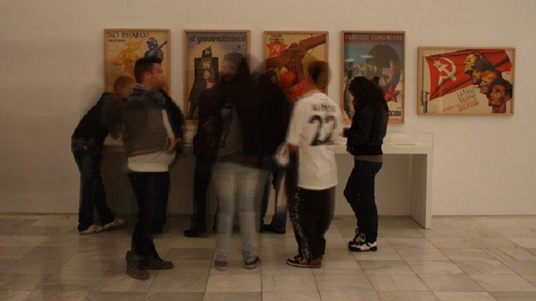 Momento de la actividad Del hospital al Museo