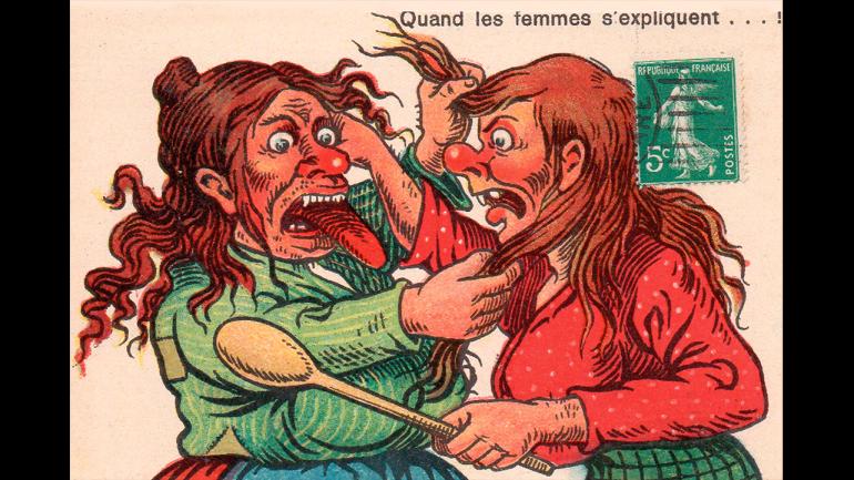 Quand les femmes s'expliquent...!, Paris, n.d.