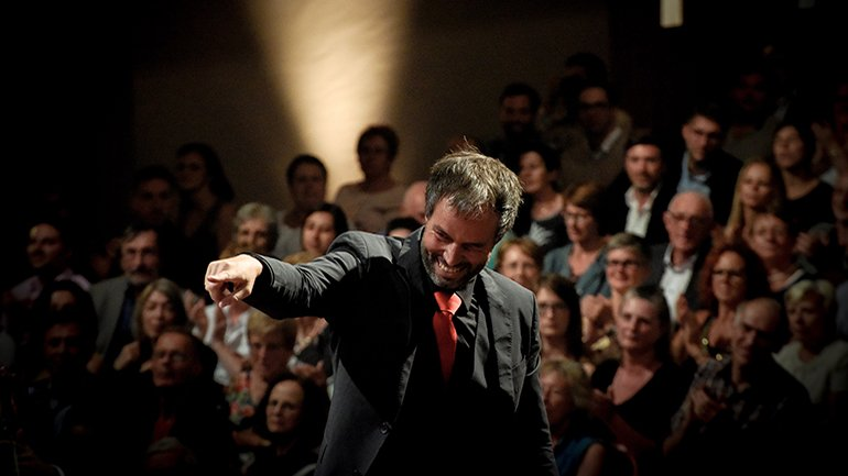 Josep Vicent. Ensemble contemporáneo de la orquestra de Cadaqués