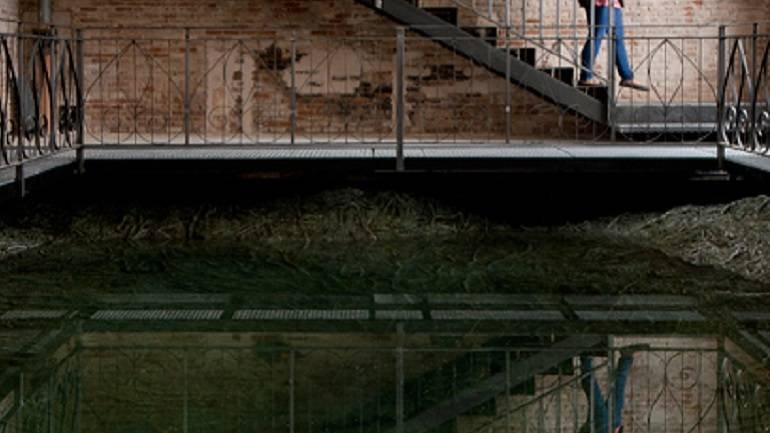 Cristina Iglesias. Tres Aguas (Three Waters). 2014