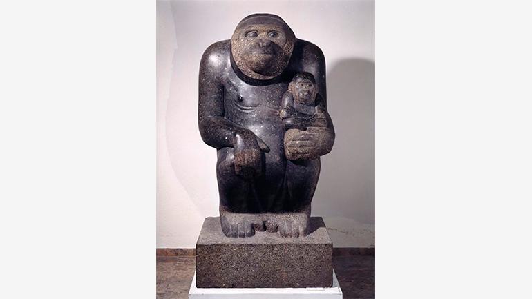 Mateo Hernández Sánchez, Grupo de gorilas, 1948