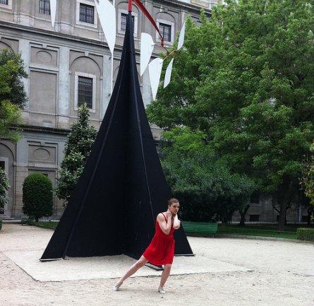 Bailarines en acción en el Museo