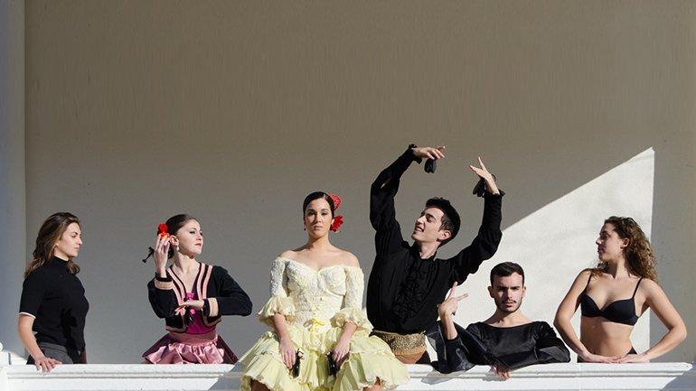 Alumnos del Conservatorio Superior de Danza María de Ávila de Madrid