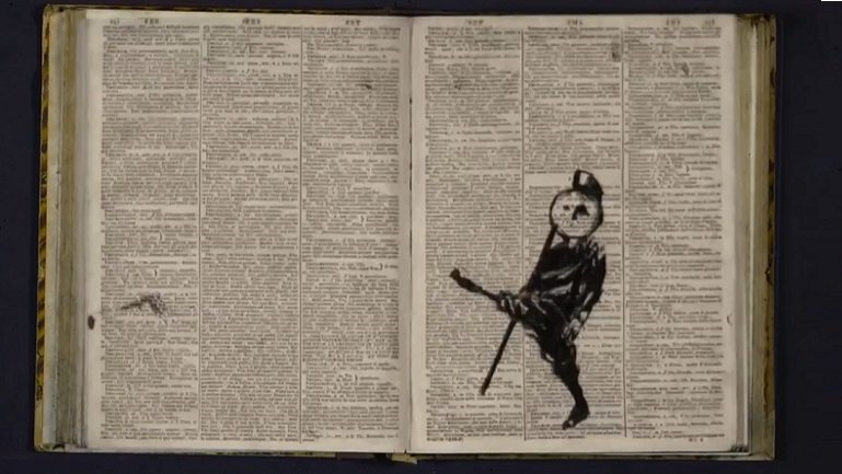 William Kentridge, Soft Dictionary. Video, 2016