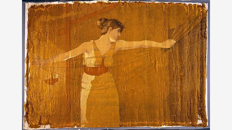 Dora Wheeler Keith, Penelope Unraveling Her Work at Night [Penélope deshaciendo su trabajo de noche, 1886], Metropolitan Museum of Art