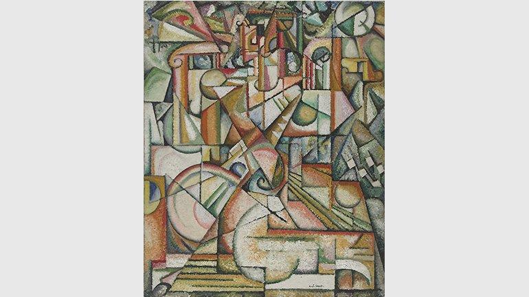 Amadeo de Souza-Cardoso. Sin título, ca. 1913 Museu Calouste Gulbenkian - Coleção Moderna