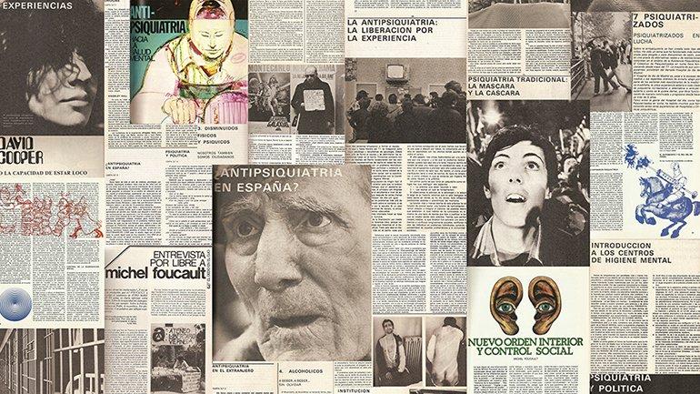 Ajoblanco nº5. Extra Antipsiquiatría. Hacia la salud mental (Ajoblanco nº5. Extra Anti-psychiatry. Towards mental health), 1978. Images cortesy of Ajoblanco