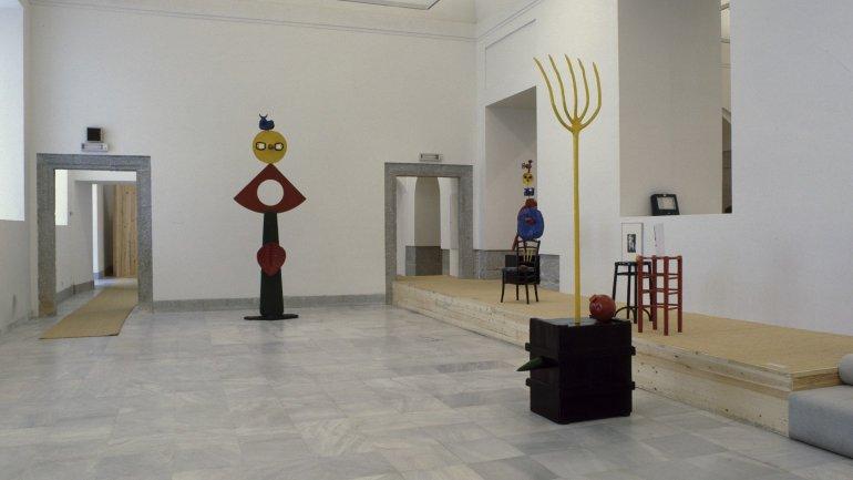 Exhibition view. Miró escultor, 1986