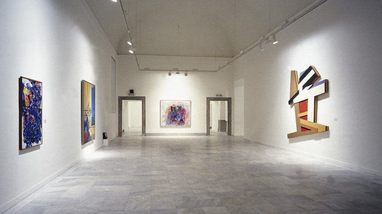 Exhibition view. Masterworks from The Phillips Collection, Washington, 1988