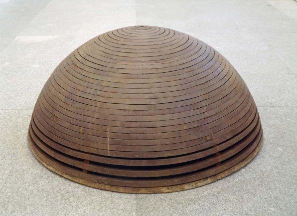 Martín Chirino. Mi patria es una roca I. El viento (70), 1986-1987. Escultura. Colección Museo Nacional Centro de Arte Reina Sofía, Madrid