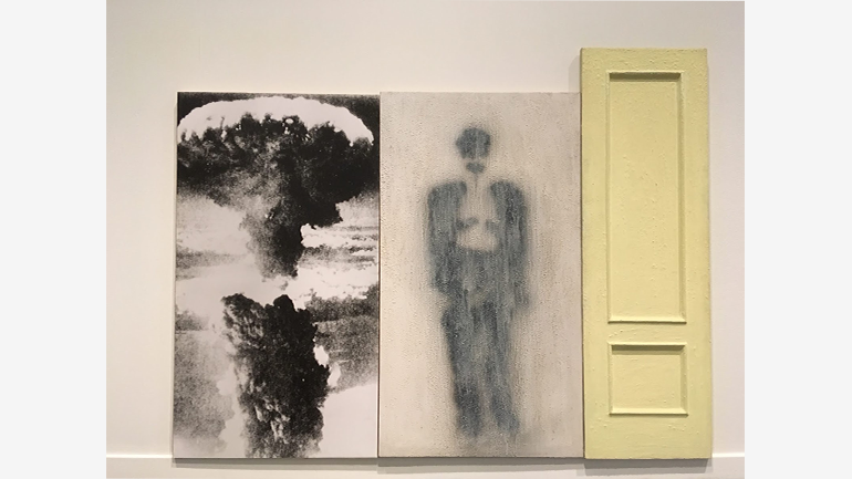 """Pedro G. Romero, Sodoma y Gomorra, instalación, 1989. Colección """"la Caixa"""" de Arte Contemporáneo © Pedro G. Romero"""