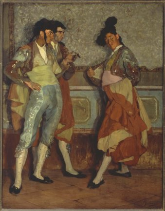 Ignacio Zuloaga. Torerillos de pueblo (Young Village Bullfighters), 1906. Painting. Museo Nacional Centro de Arte Reina Sofía Collection, Madrid