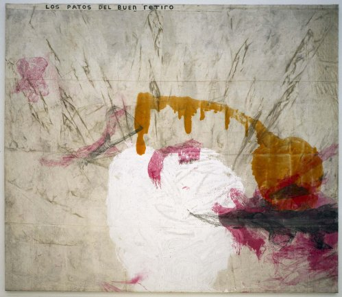 Julian Schnabel. Al pueblo de España (To the People of Spain), 1991. Painting. Museo Nacional Centro de Arte Reina Sofía Collection, Madrid