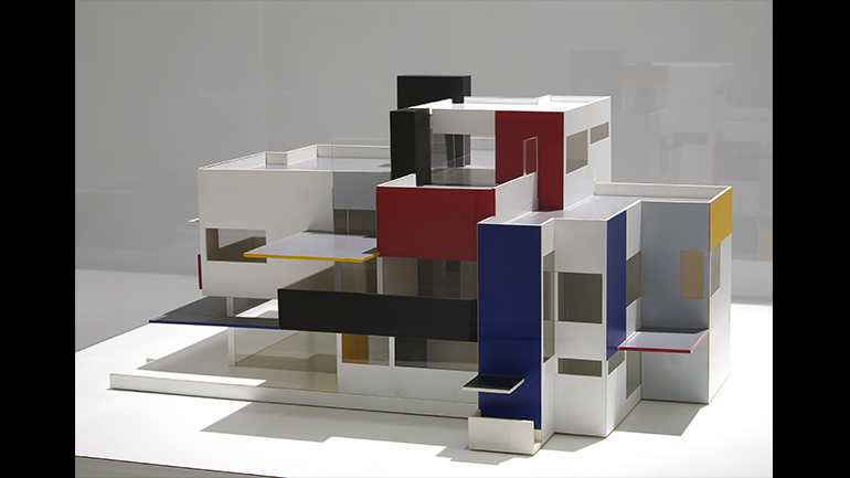 View of the exhibition Mondrian and De Stijl, 2020