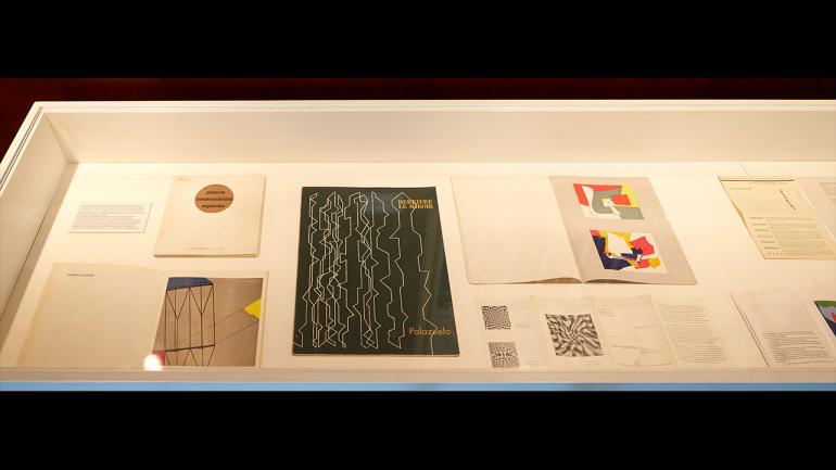 Vista de la exposición Modernidades extraviadas. Bauhaus y España. Museo Nacional Centro de Arte Reina Sofía, 2018