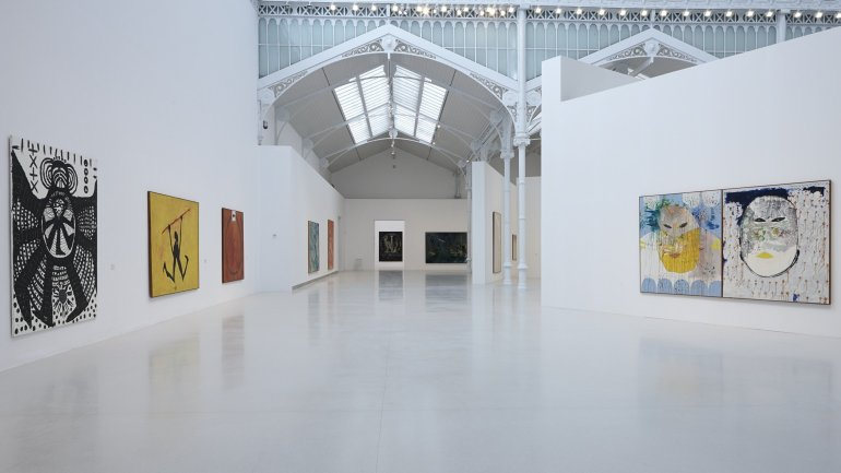Exhibition view. Idea: Pintura Fuerza, 2013