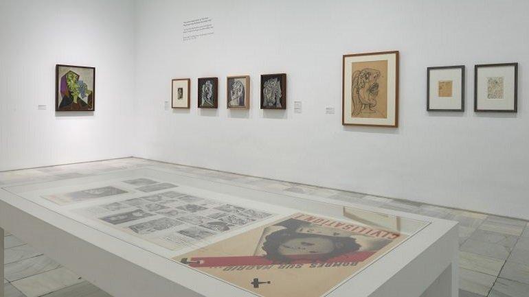 Vistas de sala. Piedad y terror en Picasso. El camino a Guernica, 2017
